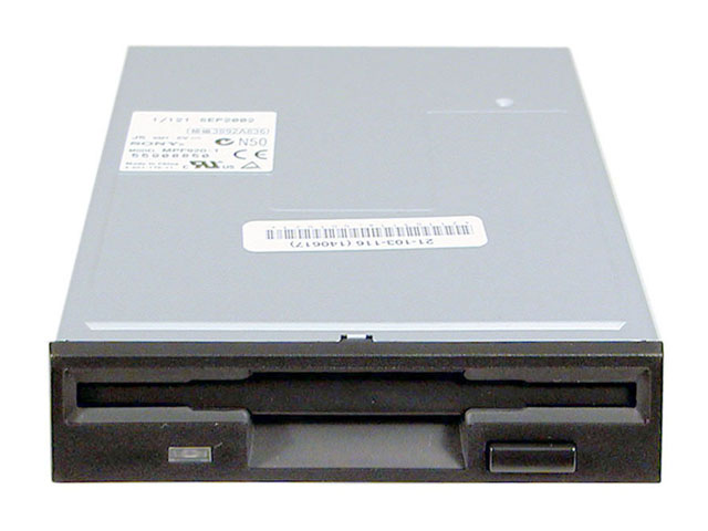 1.44MB Black Floppy Drive | Rapid PCs