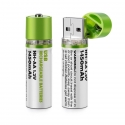 Rechargeable USB AA Battery